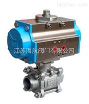 Q661F-25P|Q661F-64P氣動三片式焊接球閥-產品圖