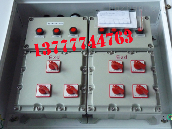 防爆电伴热控制箱-电伴热防爆箱