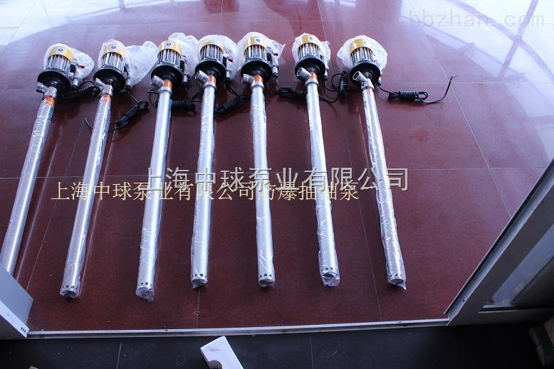 SB-3-1防爆电动油桶泵 不锈钢防爆油抽子价格