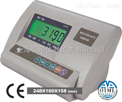 芜湖市XK3190-A12+EK3地磅显示器