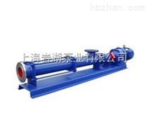 G型单螺杆泵【产品概括及选型】