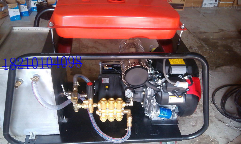 DL1750-物业小区下水道专用高压疏通机