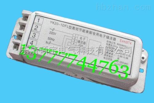 YK20-1DFL型高效节能单脚专用电子镇流器
