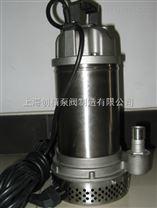 WQ(D)-S全不锈钢精密铸造污水污物潜水电泵 丝口法兰连接