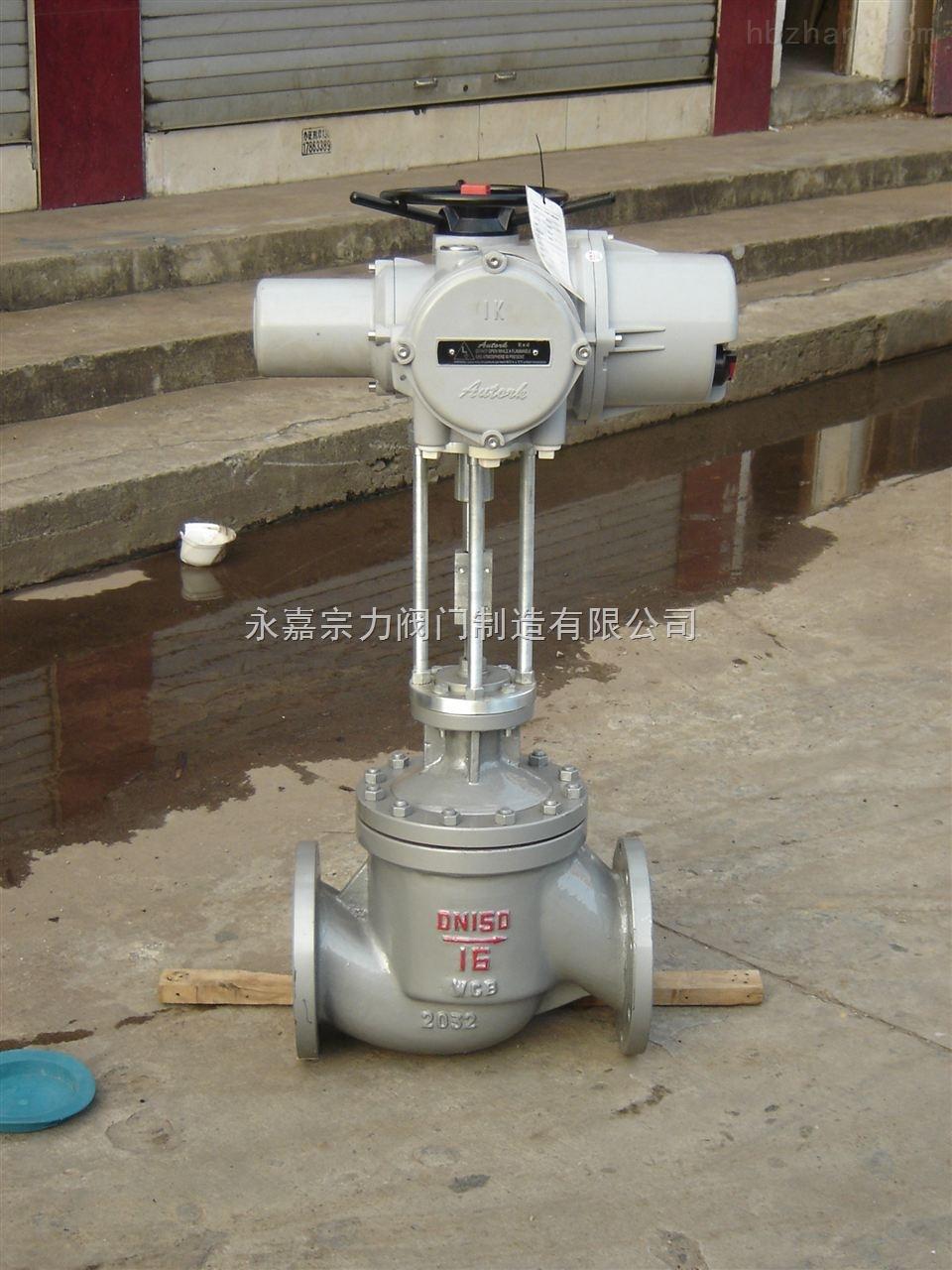 套筒式耐高温电动调节阀图片