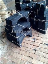 黑色防腐管道木支架空调木托