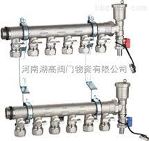 854镀镍球阀式分水器