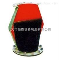 供應恒泰套接式排汙橡膠止回閥橡膠柔性止回閥橡膠緩閉逆止閥