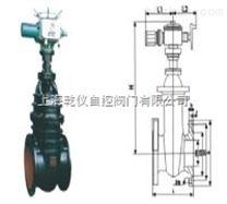 電動暗杆閘閥 Z945T-10 DN50