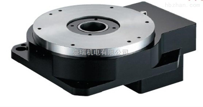 东莞市台瑞机电有限公司 联系方式:(0769-88035192) 手机:(15015180685) 台湾台瑞中空旋转平台、台瑞专业生产的/精密中空轴旋转台、行星齒輪及太陽齒齒輪材料採用SCM4材料,經硬滾、滲碳、熱處理至硬度50~55HRC及齒面研磨加工,確保齒輪精度、最佳耐磨耗、耐衝擊韌性、使壽命更長。 中空旋转平台产品介绍: 中空旋转平台是一款专利产品,创新性的新产品。用于多种旋转运动场合。可取代DD MOTOR与凸轮分割器。集高工作效率,高精度,高刚性,高性价比于一身。,既可满足分割器无法达到之数位