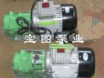 怎样使微型手提式齿轮泵的磨损降到zui低--宝图泵业