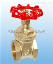 台灣富山黃銅螺紋閘閥