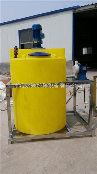 四川广安二氧化氯发生器加药装置