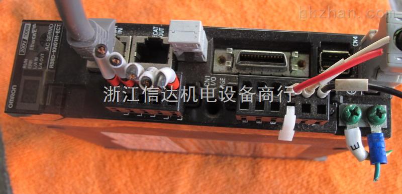 台州信达二手欧姆龙驱动器 r88d-kn01h-ect