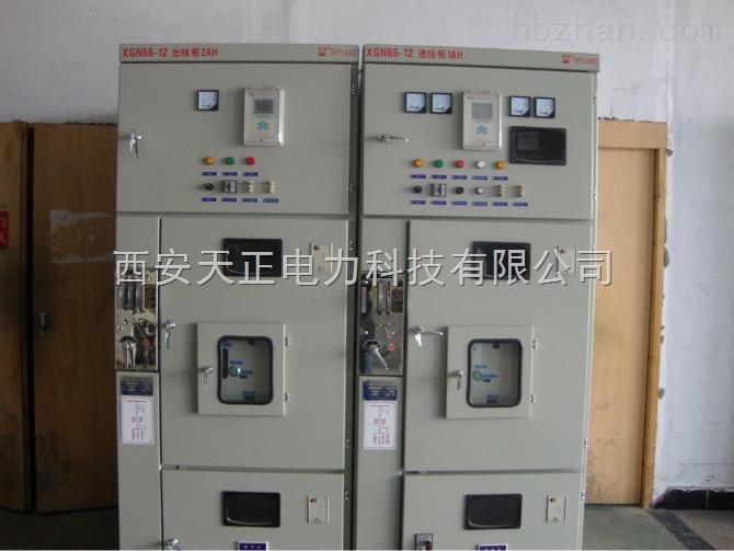 高低压成套,箱变 10kv高压开关柜 > 西安供应xgn66-12户内双电源自动