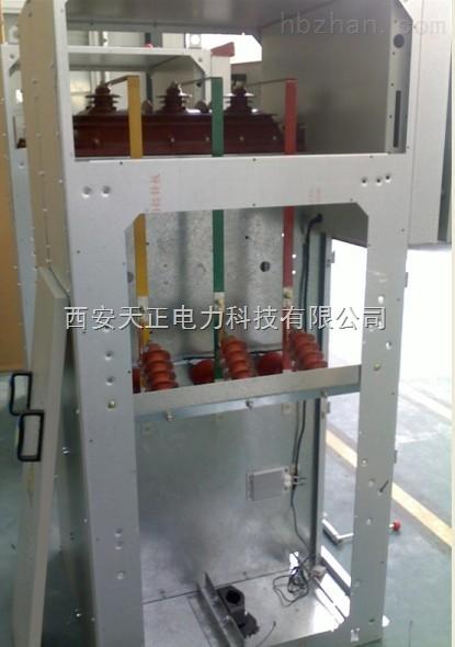 接地开关和隔离开关配用手力操动机构,本环网柜成套性强,体积小,无