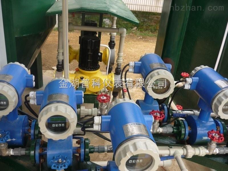 金湖普科厂家供应新款污水测量计量表