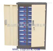 张家港30抽屉带门锁零件柜,常熟48抽半导体样品储存柜