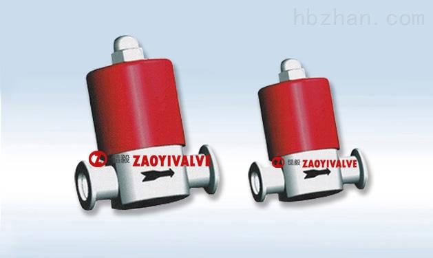 GDC-5 电磁高真空挡板阀 GDC-5电磁高真空挡板阀是连接在真空管路上,用来接通或截止真空系统中的气流,或作充气阀用。当通电时将P、A端管路接通、断电时切断P、A端管路,保持P端真空系统的真空度。适用介质为纯净空气和非腐蚀性气体。 电磁高真空挡板阀