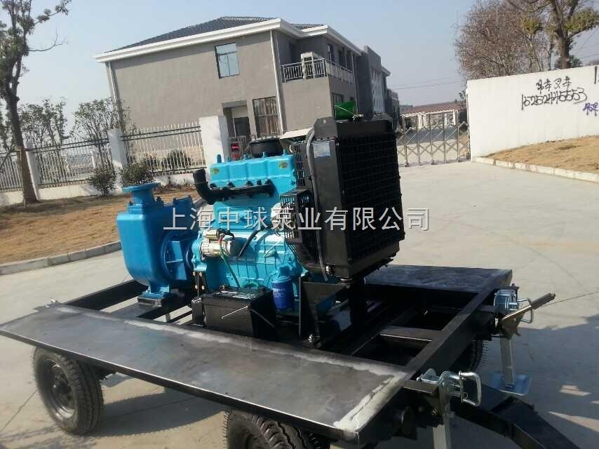 移动拖车式柴油机自吸泵