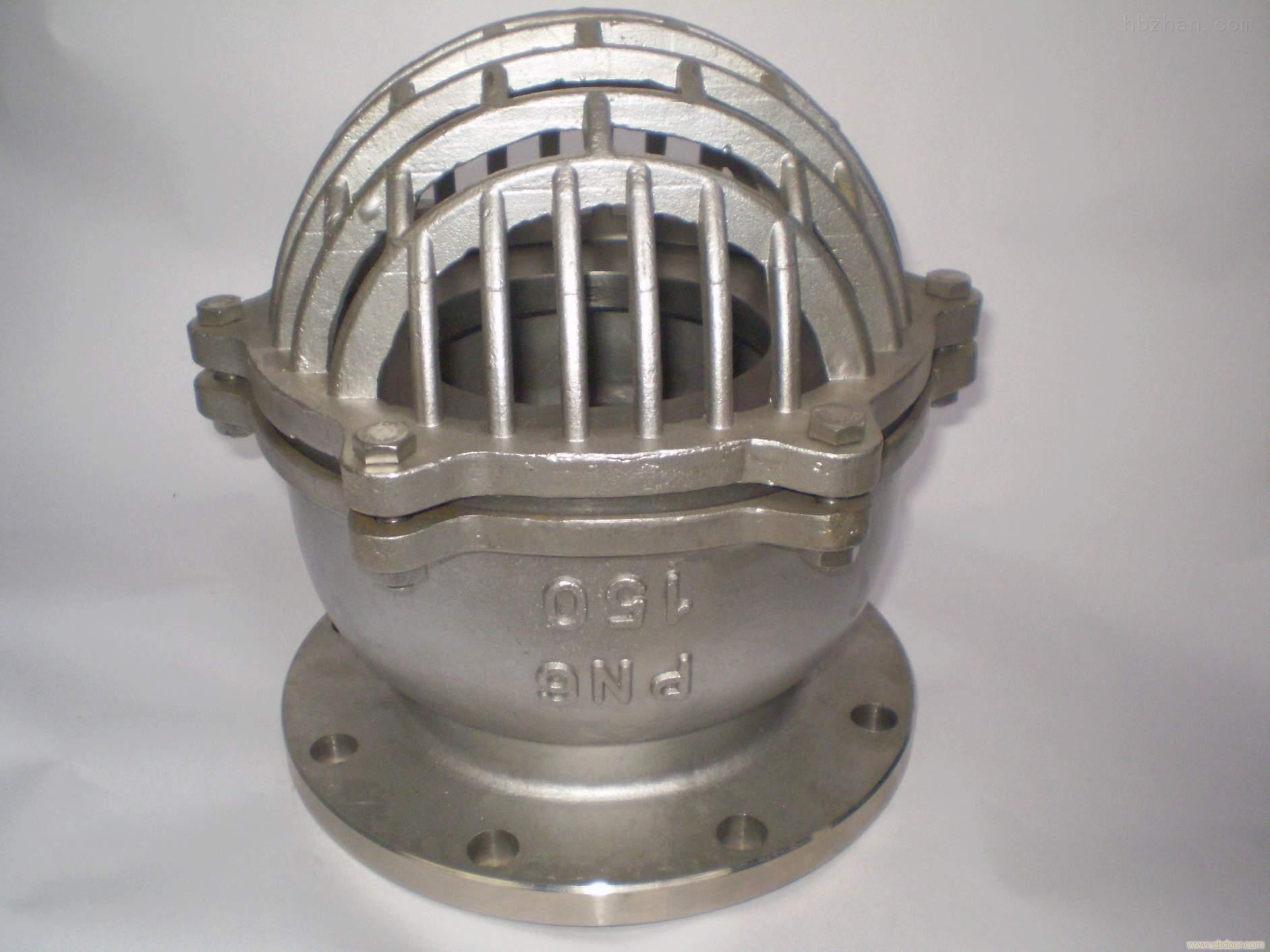 h42w-16p-304不锈钢法兰底阀h42w-16p