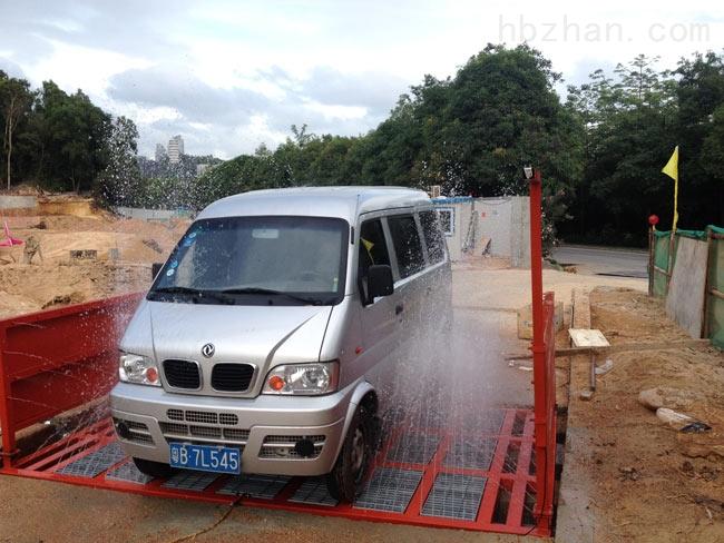 湖州车辆自动冲洗装置,工地自动洗车机洗轮机GC-100