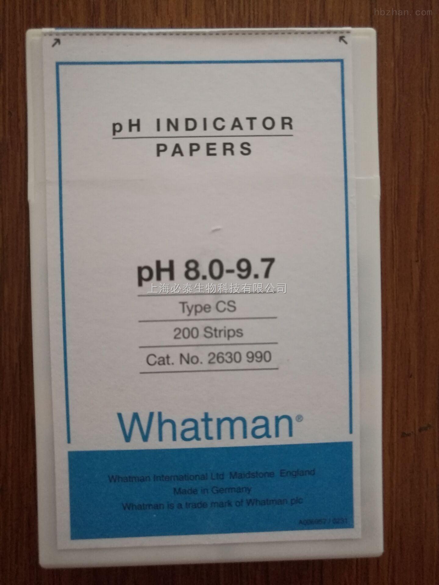 whatmanPH试纸2630-990