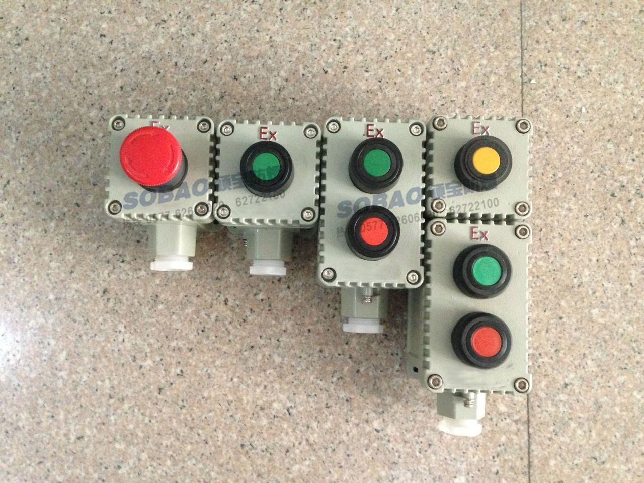 LA53-1/2/3/4防爆控制按钮盒