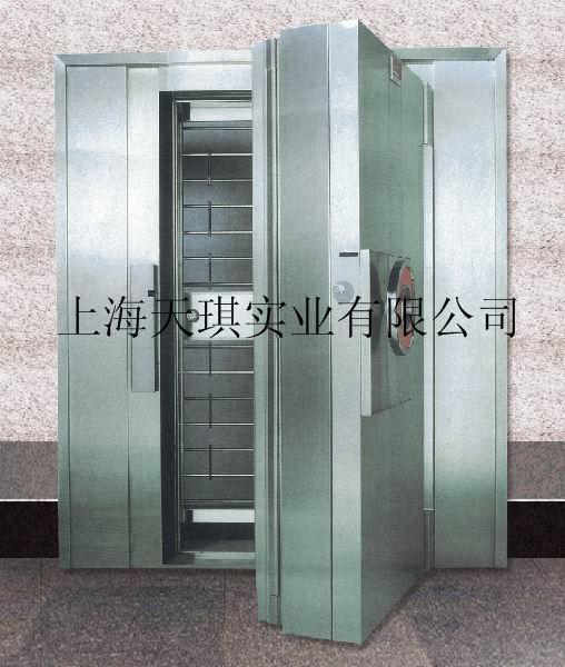 银行不锈钢金库门