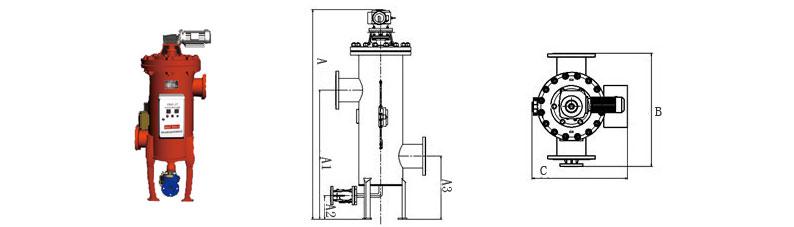 LDX-N型全自动自清洗过滤器广泛适用于循环或非循环冷却水系统、热交换系统、中央空调系统、热水锅炉系统、供暖系统,分别用来保护冷却设备、热交换装置、空调器、锅炉等。设该设备适用行业面广,包括建筑、化工、橡胶、造纸、轻纺、煤炭、食品等行业。 LDX-N型全自动自清洗过滤器的规格型号按进出水口的公称通经区分,分别为:3″、4″ 5″、6″、8″、10″、12″、14″、16″、18″、20