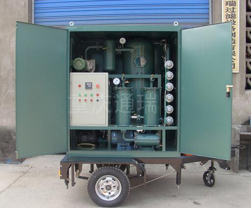 车载封闭式ZJA双级真空滤油机