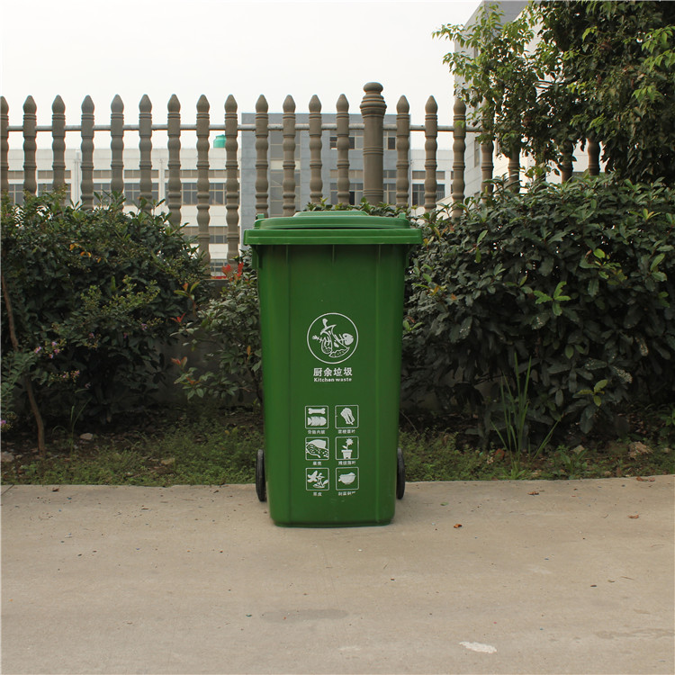 南通塑料环卫挂车垃圾桶