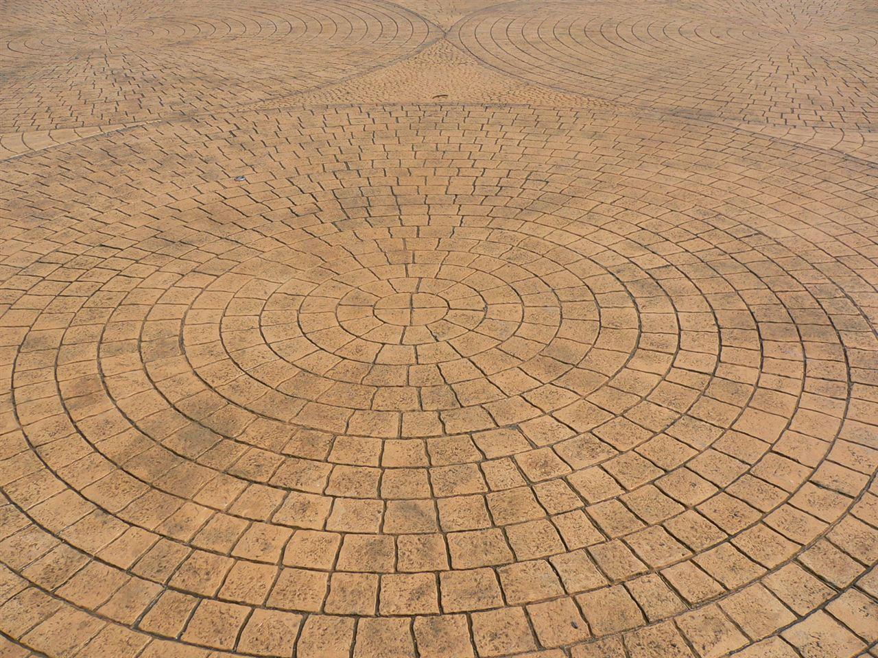 压花地坪模具价格/压模地坪做法/混凝土仿木纹地坪