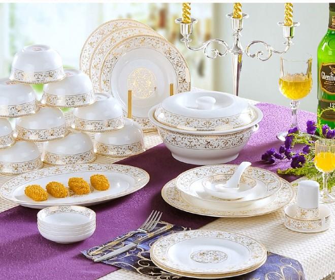 欧式餐具图片