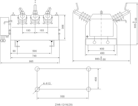 真空断路器灭弧室结构图