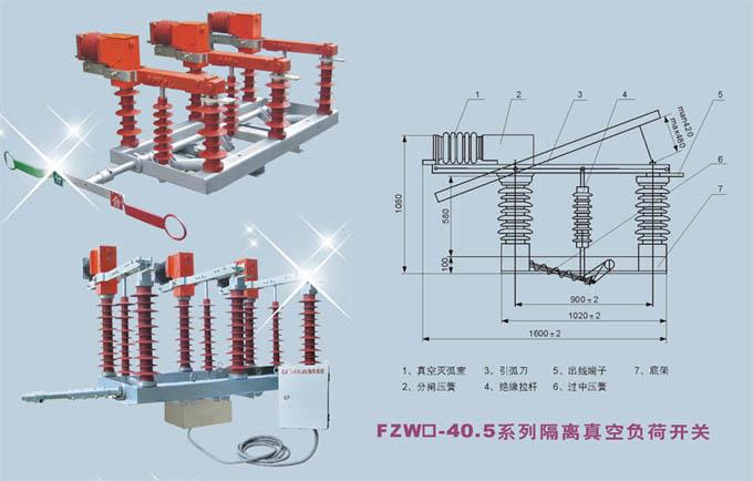 fzw32高压隔离真空负荷开关