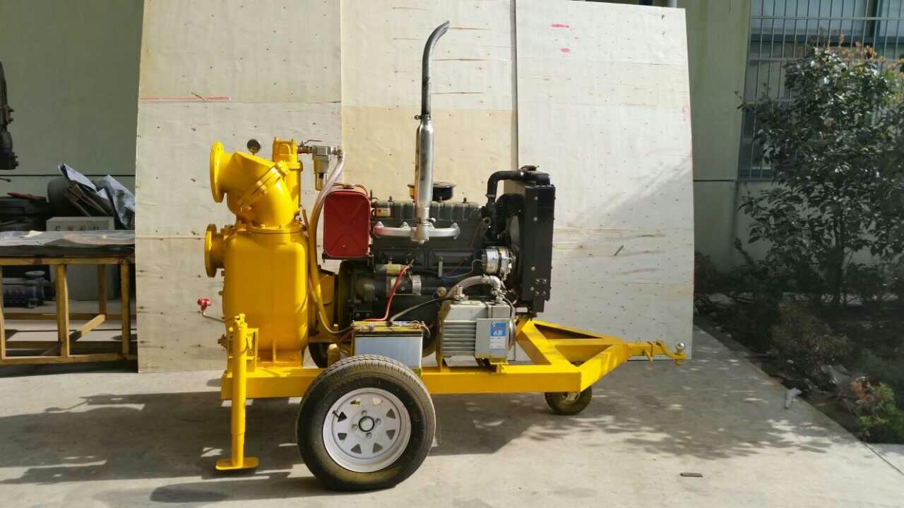 移动式柴油机自吸污泥泵