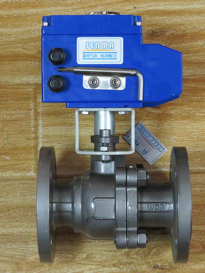 电动法兰球阀smq941f产品介绍图片