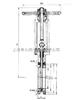 Z973Y-10V超高溫灰渣閘閥,手/電動對夾排渣閘閥
