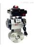Q671F超薄型气动对夹式球阀