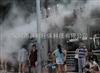 河南公交站喷雾降温工程降温加湿产品资讯